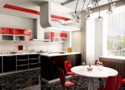 Виды кухонной мебели