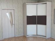 Радиусные шкафы-купе - фотогалерея